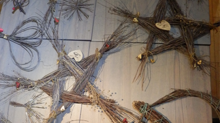 Birch Twig Decorations
