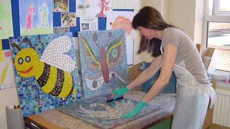 Mosaic with Sue Kershaw