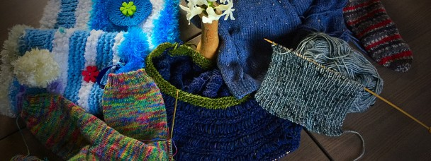 Knitting club and handcrafts in East Yorkshire