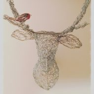 Wire net Stag's Head