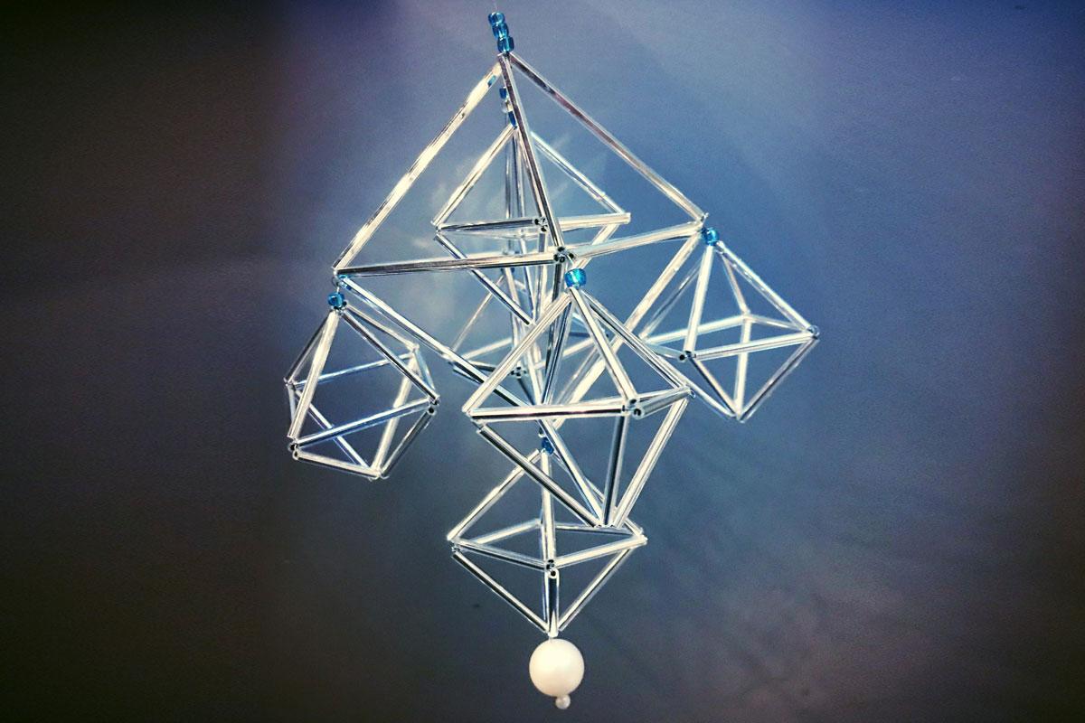 Himmeli made at Blacksmith Shop Crafts