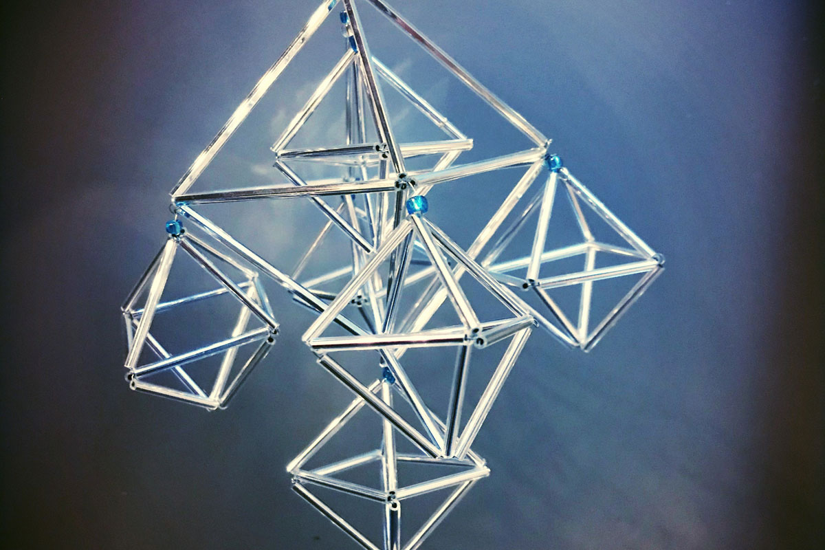 Himmeli crafted at Blacksmith Shop Crafts