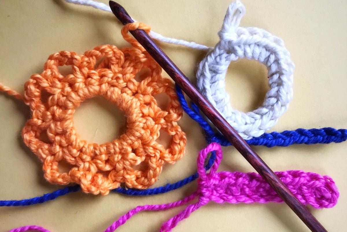 beginner crochet workshop